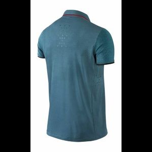 Nike Shirts - NIKE RF Premier Polo Australian Open 2014  Large